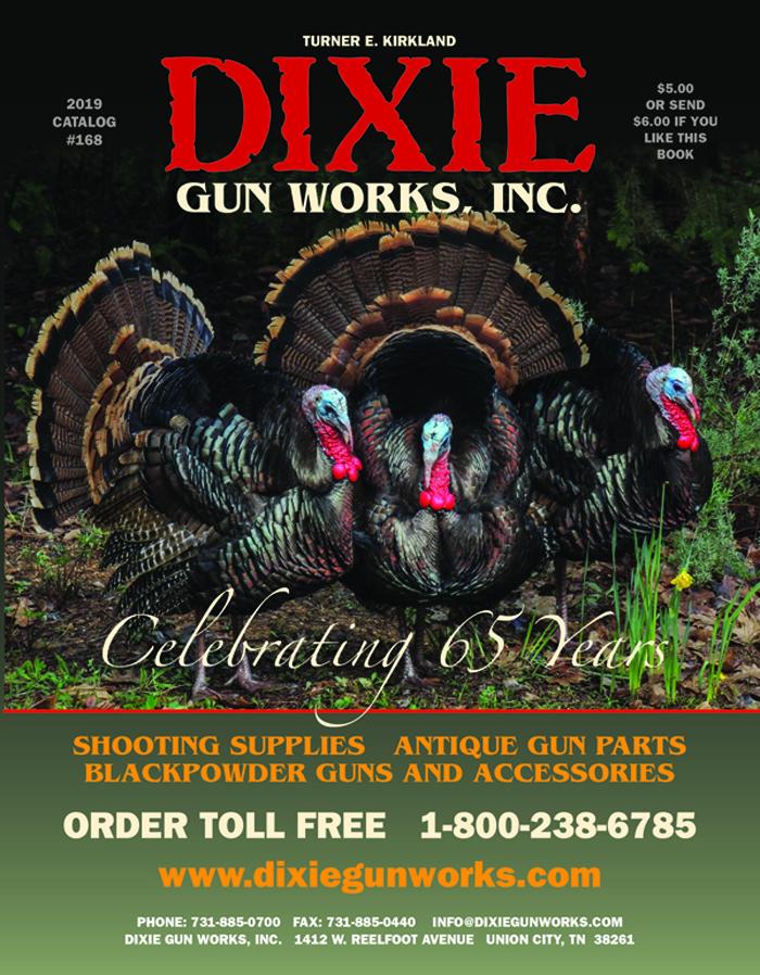 PC0168 2019 Dixie Gun WOrks Catalog