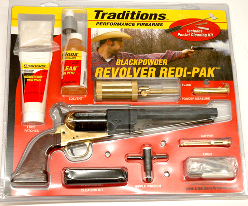 AC1851 Traditions 1851 Civil War Revolver Outfit
