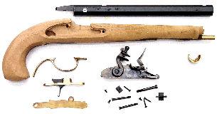 FH0320 Pedersoli Kentucky Flint Pistol Kit