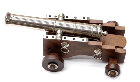 Black Powder Naval Mini Cannon Barrel .36 cal NEW