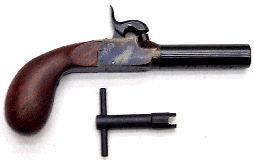 PH0530 Pedersoli Screw Barrel Pistol
