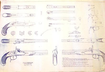 Pt0940 Hawken Pistol Diagram